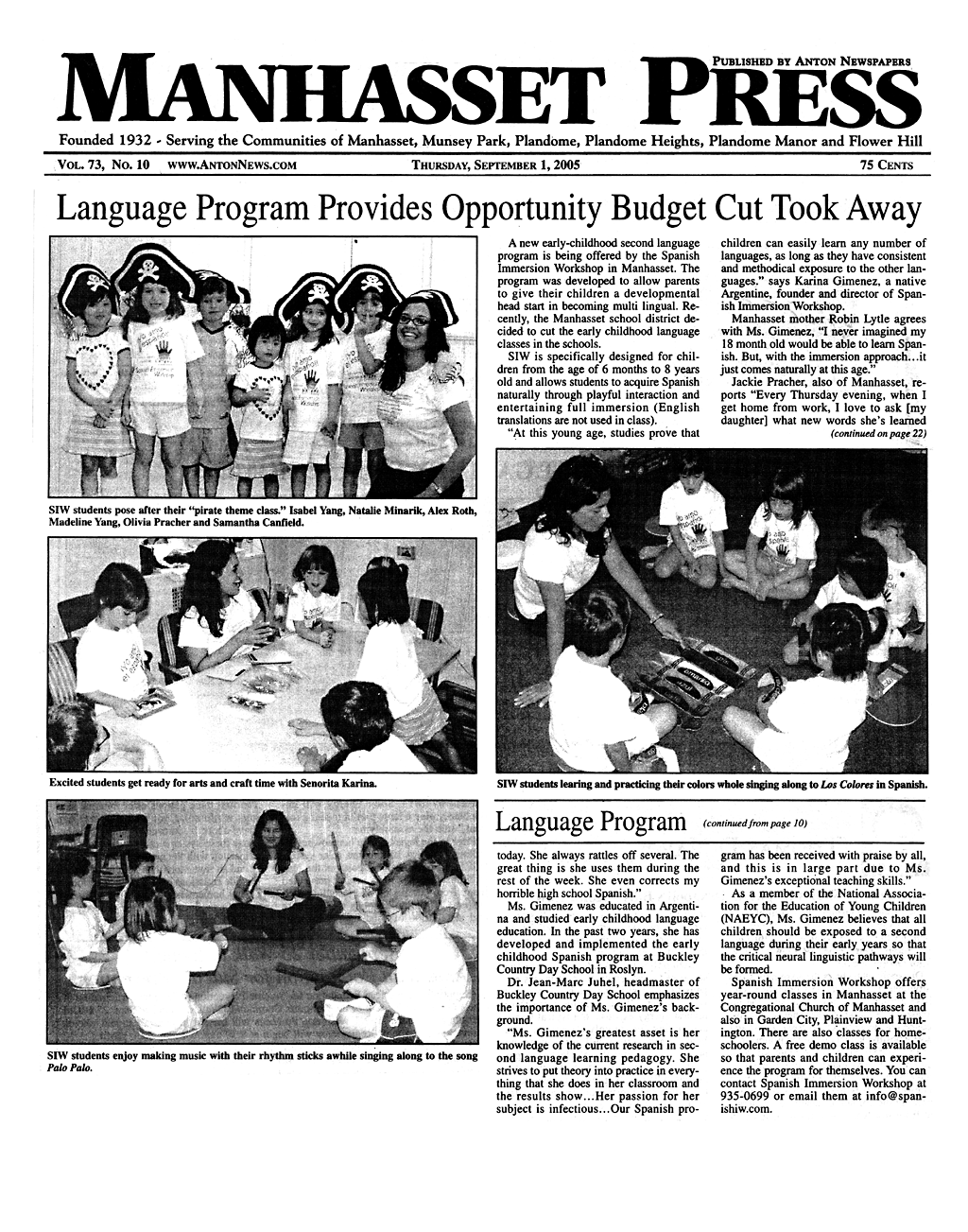Manhasset press article copy2